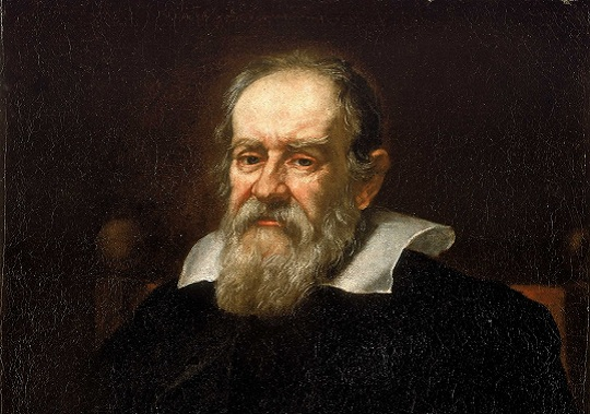 Retrato de Galileo Galilei