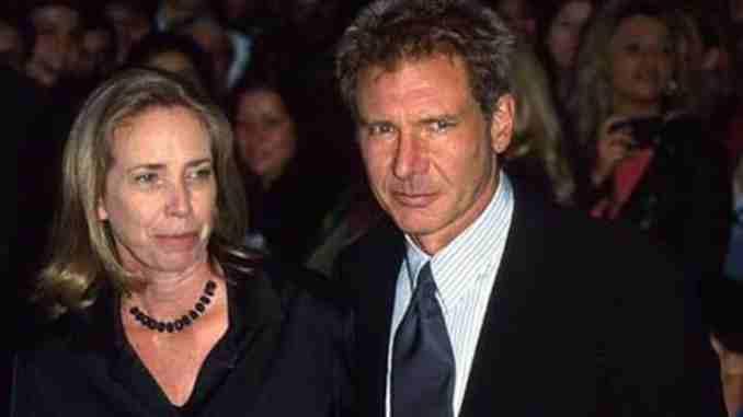 Mary Marquardt y Harrison Ford