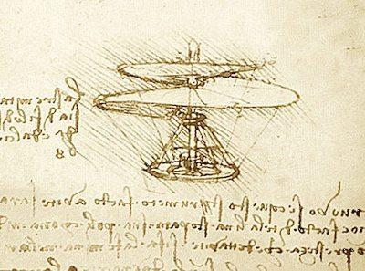 El ornitóptero de Leonardo Da Vinci