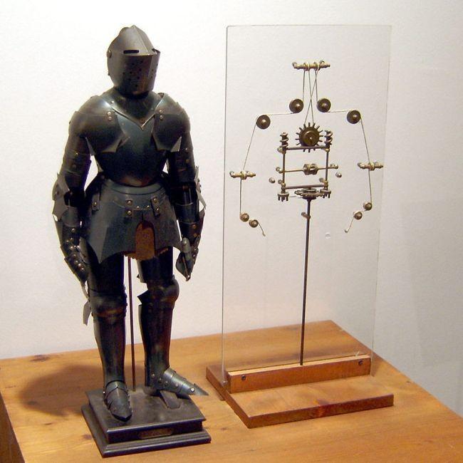 Robot Leonardo Da Vinci