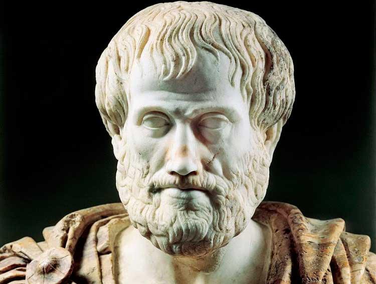Retrato de aristóteles