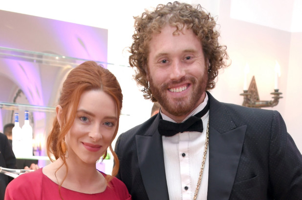 Kate Gorney y su marido
