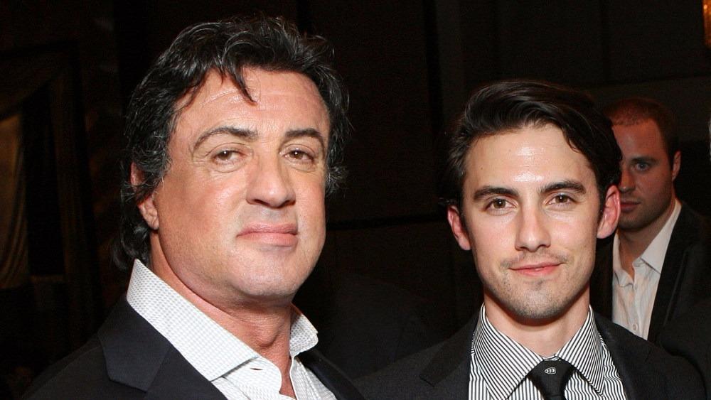 Stallone con su hijo