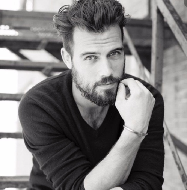 Thomas Beaudoin en blanco y negro