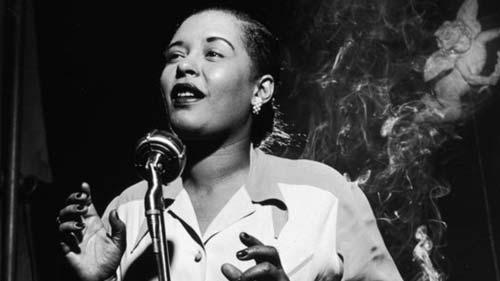 Billie Holiday adicta a las drogas y el alcohol