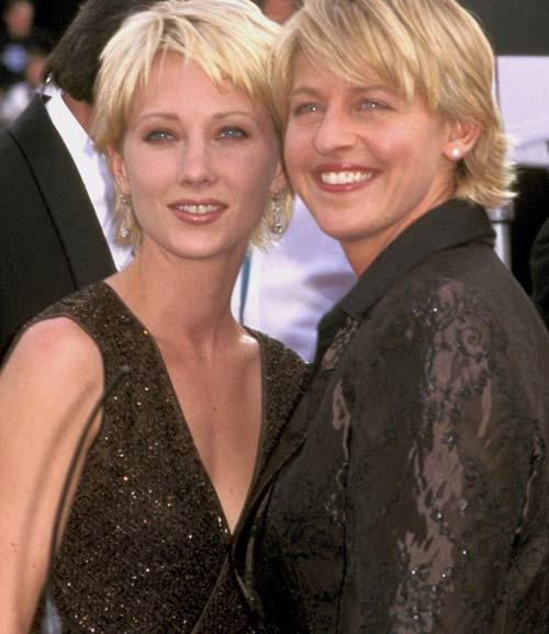 Anne Heche con Ellen Degeneres