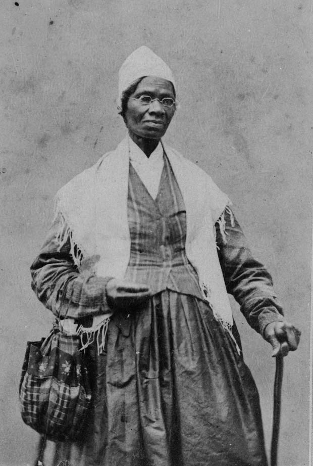 Sojourner Truth luchando por los derechos de los negros