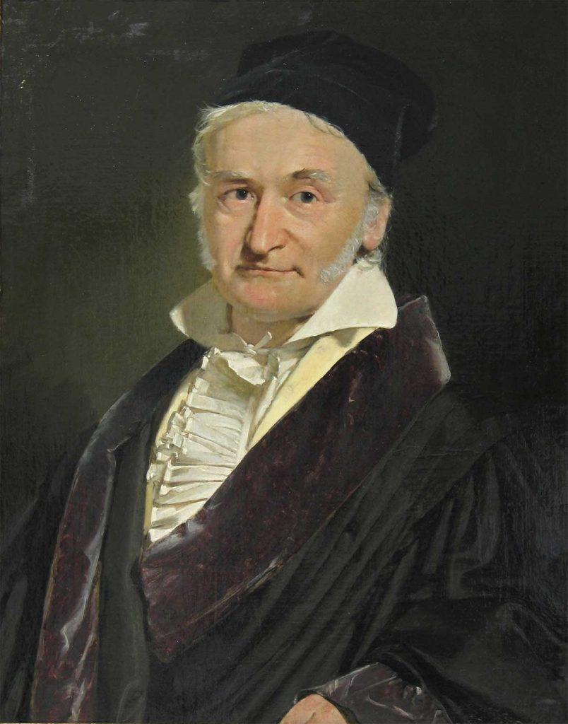 Retrato de Carl Friedrich Gauss